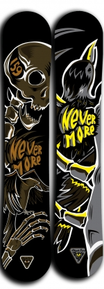 Сноуборд Black Fire Nevermore 2016